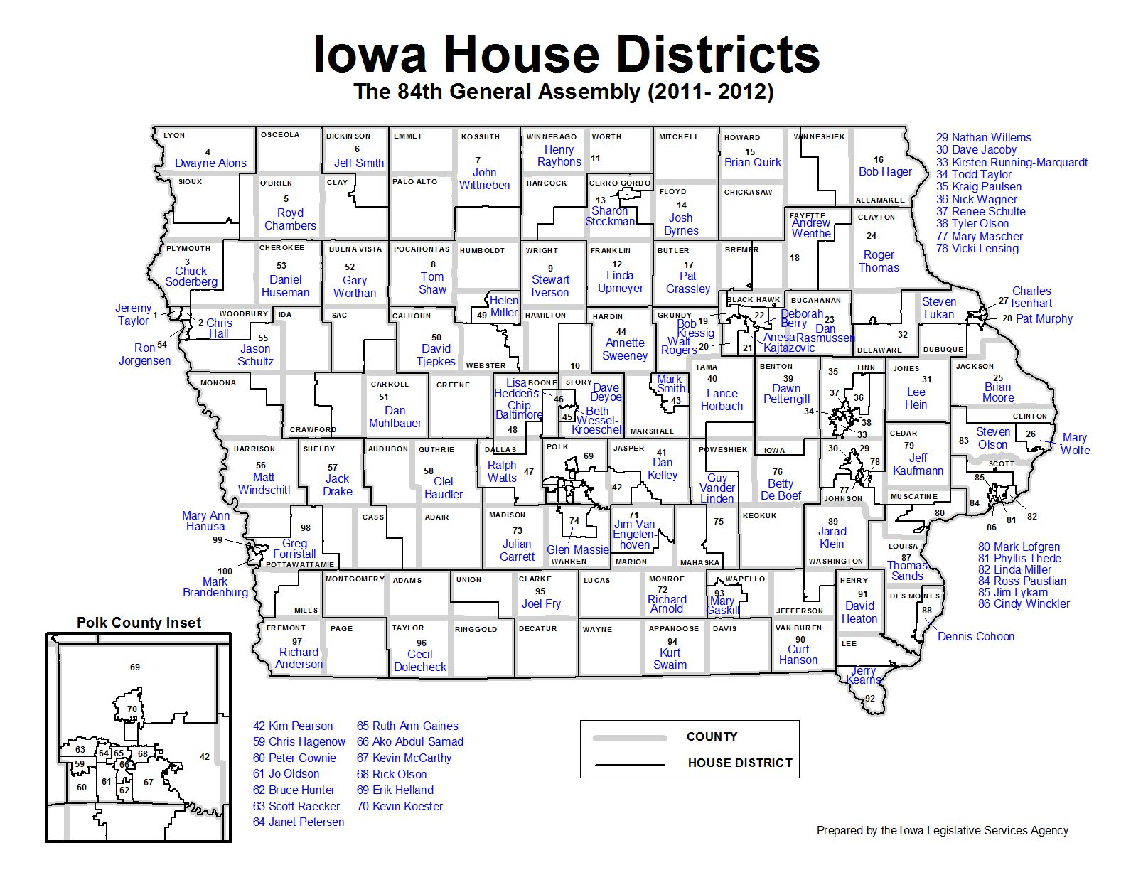 John Deeth Blog District Of The Day Reboot Iowa Senate