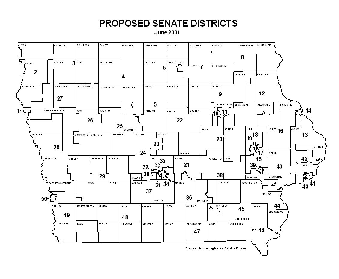 Iowa Redistricting Plan 2